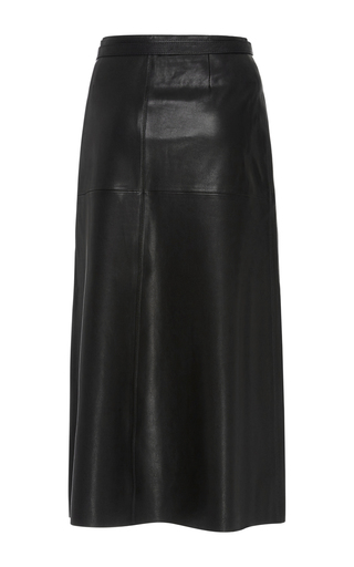 Candy Leather Wrap Skirt by ISABEL MARANT Now Available on Moda Operandi