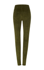 Eydie High Waist Suede Trousers by ISABEL MARANT Now Available on Moda Operandi