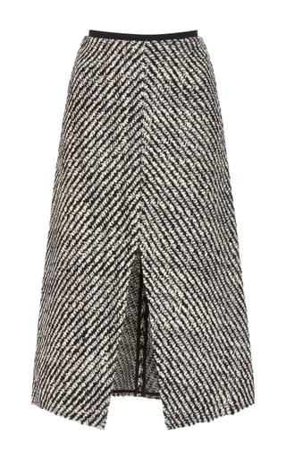 Medium isabel marant black white inko midi pencil skirt
