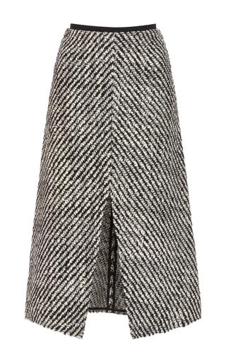 Medium isabel marant black white inko midi pencil skirt
