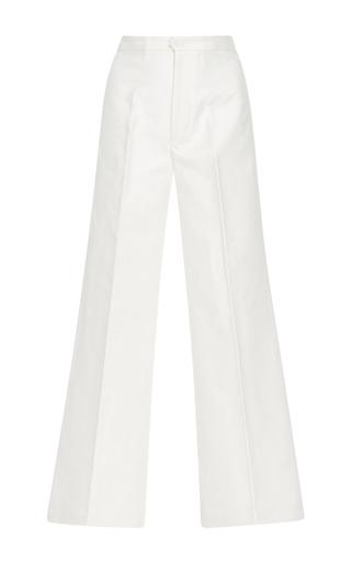 Medium isabel marant white steve wide leg trousers
