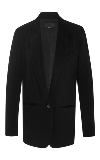 Medium isabel marant black madoc blazer