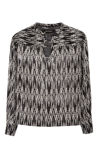 Gaomi Long Sleeve Blouse by ISABEL MARANT Now Available on Moda Operandi
