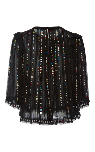 Fordon Sequin Crop Top by ISABEL MARANT Now Available on Moda Operandi