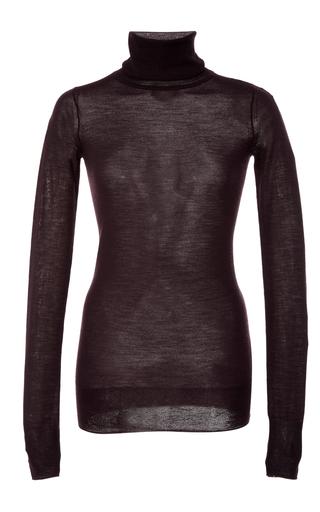 Medium isabel marant burgundy allen turtleneck sweater