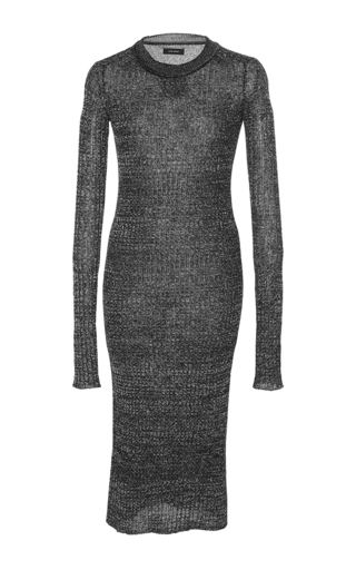 Medium isabel marant black dakota midi dress