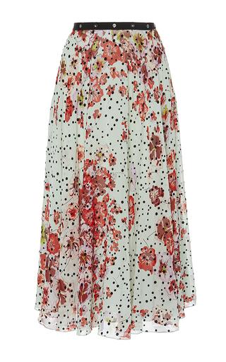 Medium giamba floral floral printed silk skirt