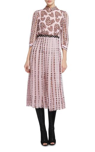 Floral Printed Dress by GIAMBA Now Available on Moda Operandi