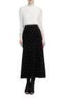 Laser Cut Floral Skirt by GIAMBATTISTA VALLI Now Available on Moda Operandi