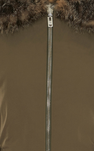 Reversible Shearling Nylon Parka by GIAMBATTISTA VALLI Now Available on Moda Operandi