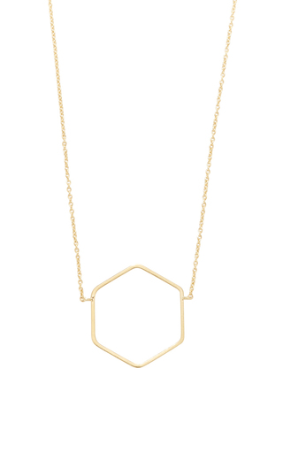 Hexagon Necklace by ISABEL MARANT Now Available on Moda Operandi