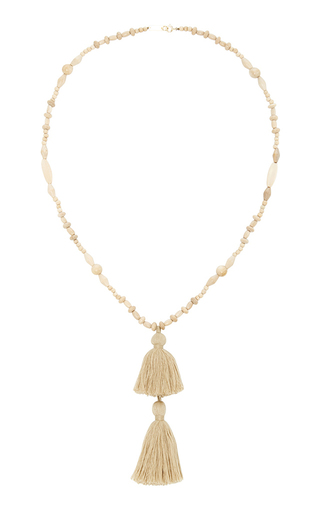 Beaded Tassel Necklace by ISABEL MARANT Now Available on Moda Operandi
