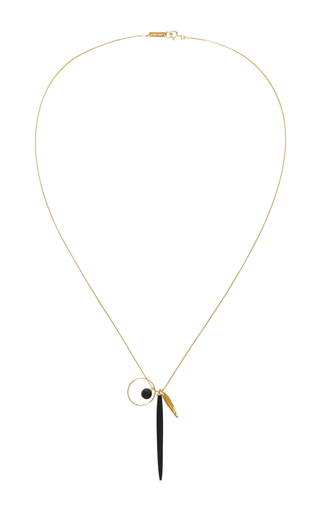 Bead And Hoop Necklace by ISABEL MARANT Now Available on Moda Operandi