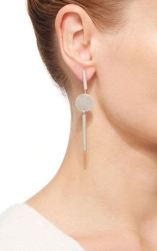 Circle Bar Drop Earrings by ISABEL MARANT Now Available on Moda Operandi