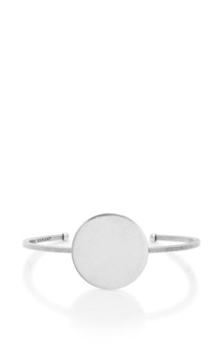 Medium isabel marant silver circle bracelet