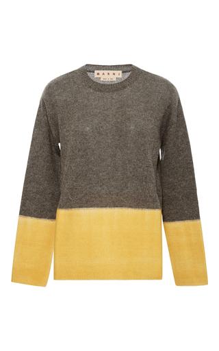 Medium marni dark grey two toned sweater