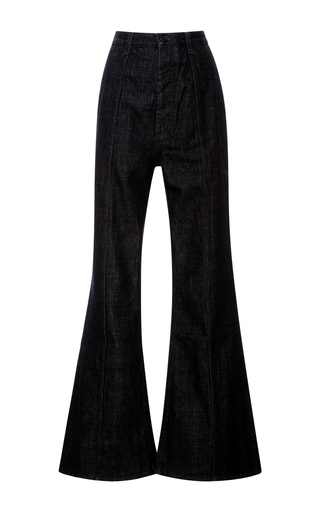 Medium marni navy straight legged jeans