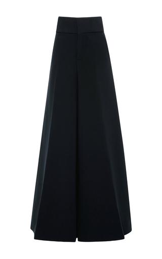 Medium marni navy wide legged trousers