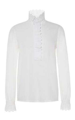 Medium vilshenko white olivia blouse