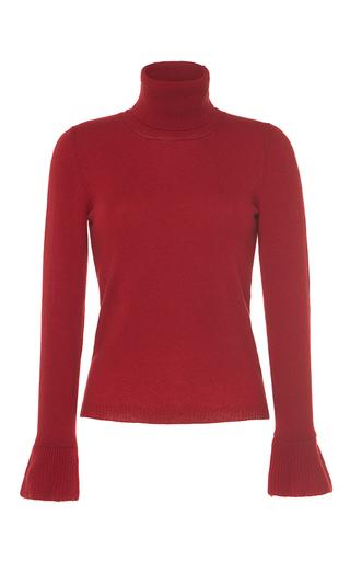 Medium vilshenko red mimi wool cashmere turtleneck