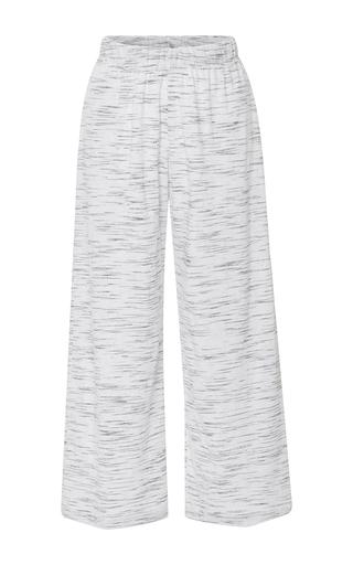 Medium prism light grey athens cropped marble pants