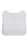 Okinawa Waffle Texture Crop T Op by PRISM Now Available on Moda Operandi