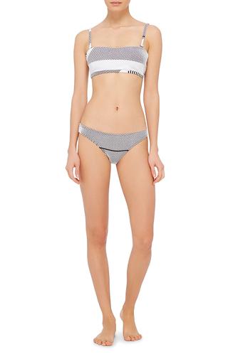 Hossegor Textured Bikini Top by PRISM Now Available on Moda Operandi