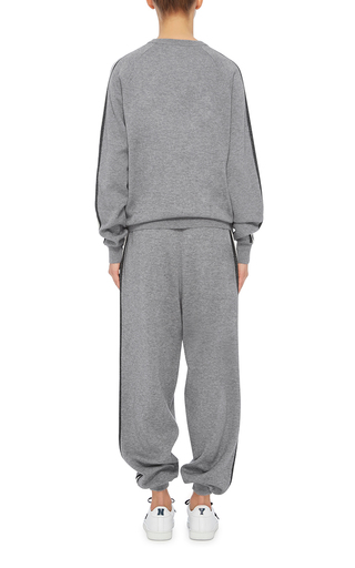 Missy London Sweatshirt And Joggers Set by OLIVIA VON HALLE Now Available on Moda Operandi