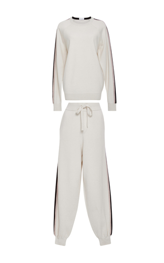 Missy Moscow Sweatshirt And Joggers Set by OLIVIA VON HALLE Now Available on Moda Operandi