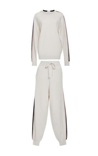 Medium olivia von halle ivory missy new york sweatshirt and joggers set