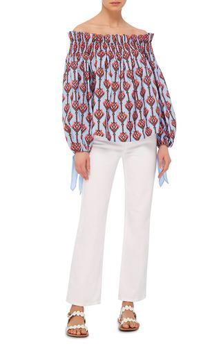Lou Off The Shoulder Top by CAROLINE CONSTAS Now Available on Moda Operandi