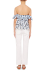 Margi Embroidered Tiered Top by CAROLINE CONSTAS Now Available on Moda Operandi