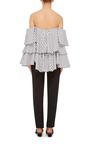 Carmen Off The Shoulder Top by CAROLINE CONSTAS Now Available on Moda Operandi
