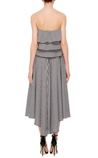 Adelle Asymmetrical Wrap Skirt by CAROLINE CONSTAS Now Available on Moda Operandi