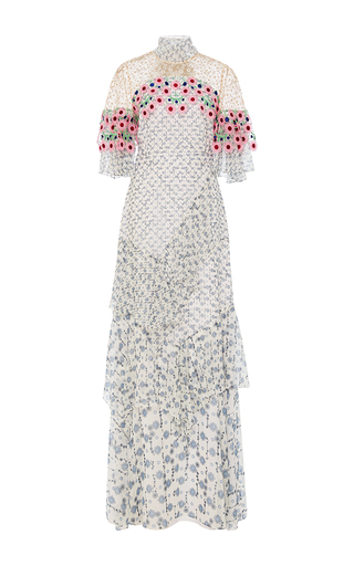 Medium peter pilotto floral floral embroidered gown