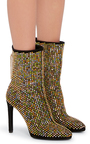 Scarpa Swarovski Ankle Boots by ROBERTO CAVALLI Now Available on Moda Operandi