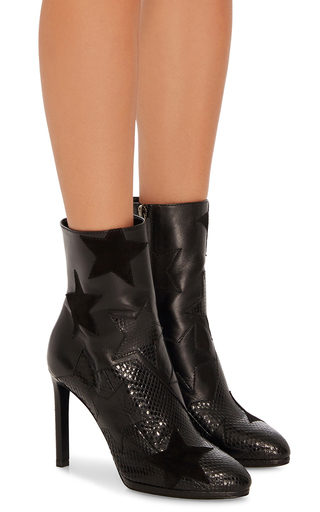 Black Star Ankle Boot by ROBERTO CAVALLI Now Available on Moda Operandi