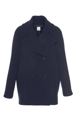 Medium martin grant navy navy double breasted wool caban