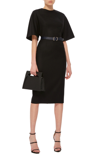 Belted Flannel Dress by MARTIN GRANT Now Available on Moda Operandi