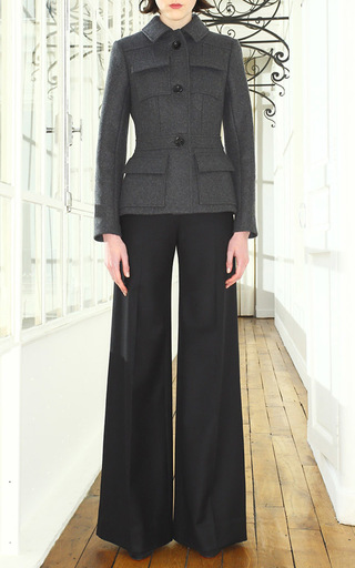 Wool Smocking Pant by MARTIN GRANT Now Available on Moda Operandi