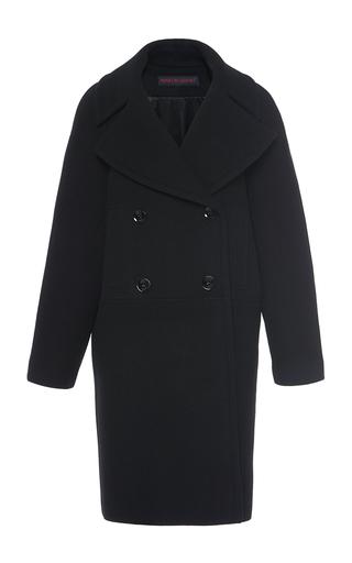 Medium martin grant black black double breasted wool caban