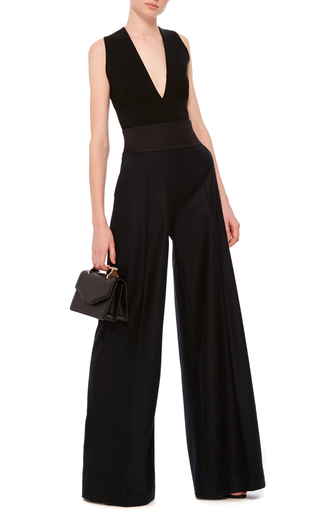 Cropped Crossover Tank Top by MARTIN GRANT Now Available on Moda Operandi
