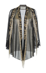 Lame Fringe Evening Jacket by ALBERTA FERRETTI Now Available on Moda Operandi