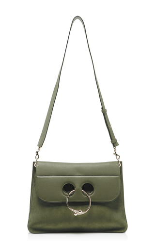 Large Pierce Shoulder Bag by J.W. ANDERSON Now Available on Moda Operandi