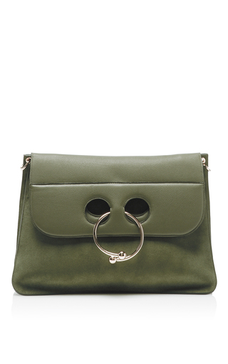 Medium j w anderson green large pierce shoulder bag