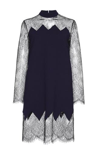 Medium huishan zhang black stephanie lace illusion dress