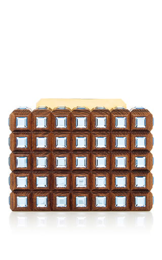 Medium elie saab brown mini shoulder bag