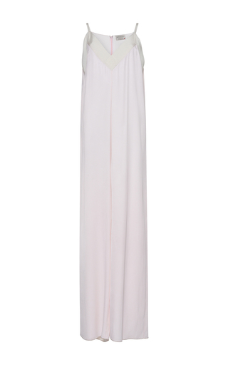 Satin Crepe Jumpsuit  by MAISON RABIH KAYROUZ for Preorder on Moda Operandi