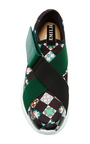 Monreale Leather Sneakers by EMILIO PUCCI Now Available on Moda Operandi
