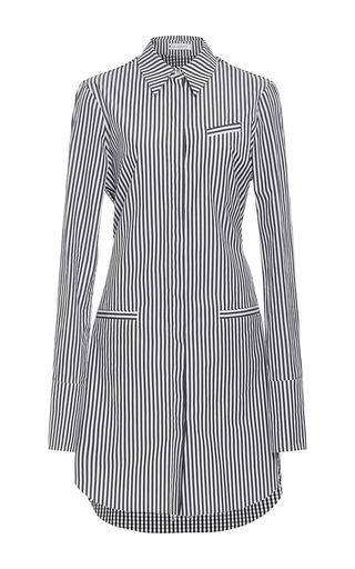 Medium j w anderson stripe striped shirt dress